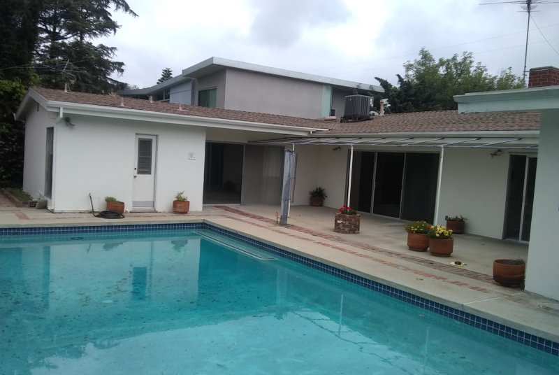 Residential Architect California Mid-Century Modern Home Makeover Before