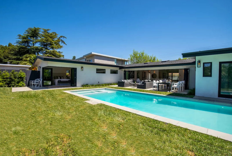 Residential Architect California Mid-Century Modern Home Makeover After
