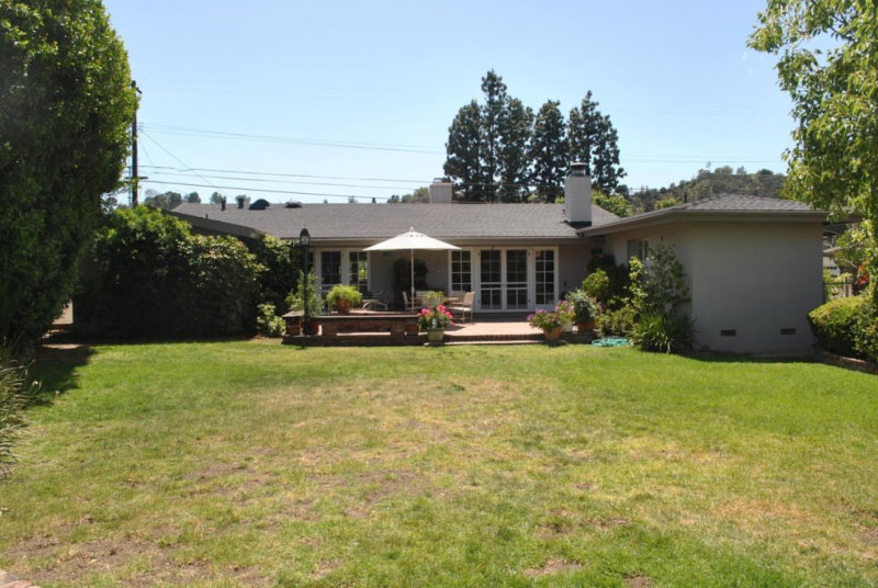 Residential Architect California Ranch Home Makeover Before 1