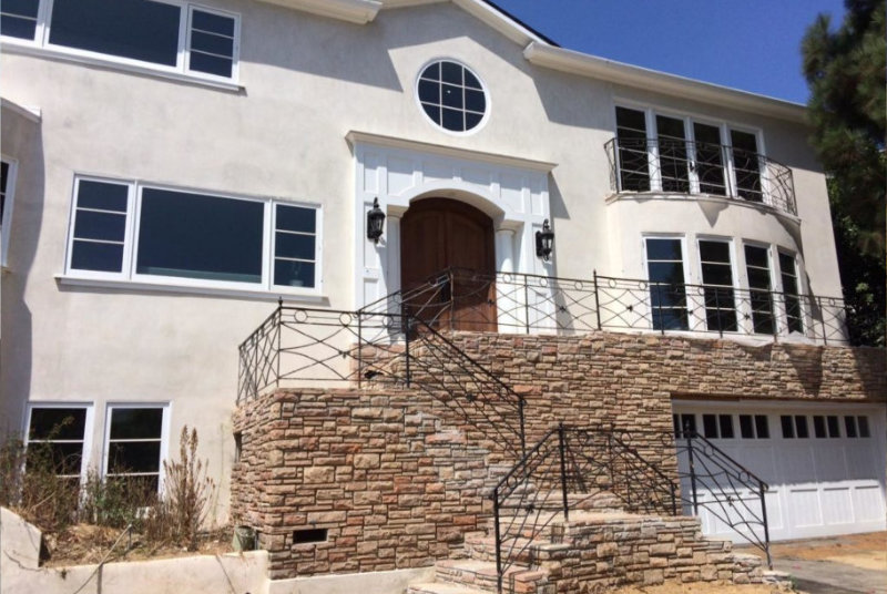 Residential Architect Colonial California Home Makeover Before