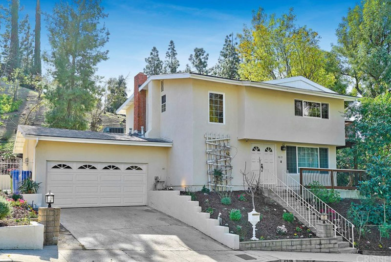 Residential Architect  Contemporary California Home Makeover Before